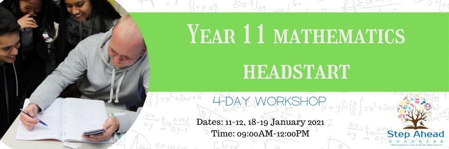 Year 11 Mathematics (4-day workshop)