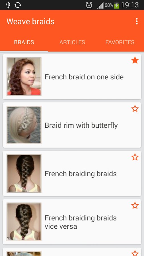 Weave braid- screenshot