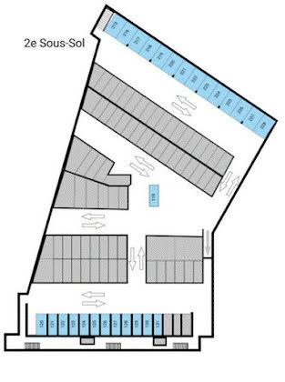 Vente parking 460 m2