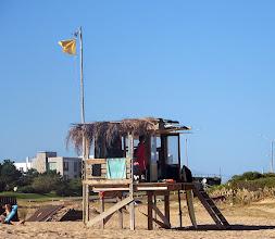 Photo: Lifeguard station at Playa Montoya