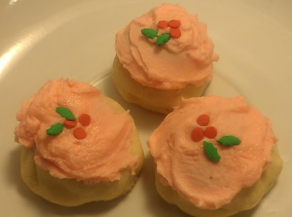 Add some pretty decorations to the top and they're done! Recipe makes about 28-30...