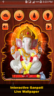 Ganpati Live Wallpaper & Game- screenshot thumbnail