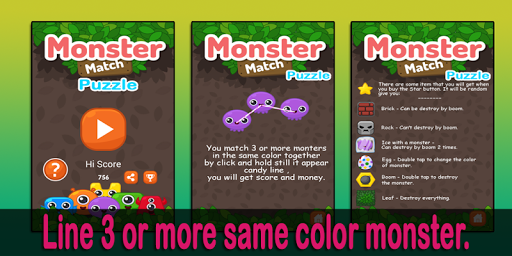 Monster Match - Puzzle Blaster