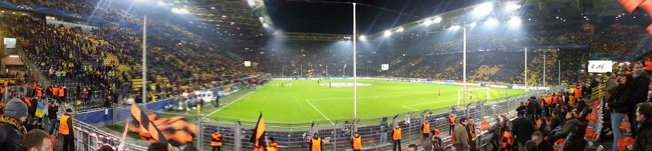 Photo: Panorama Aufnahme im Stadion