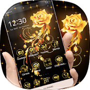 App Golden Rose Theme APK for Windows Phone