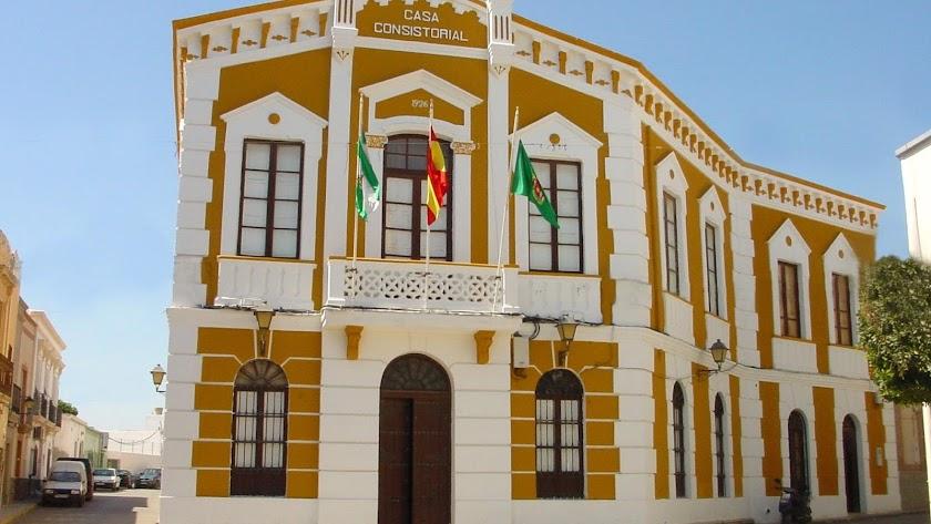 El Ayuntamiento de Pechina, en una imagen de archivo.