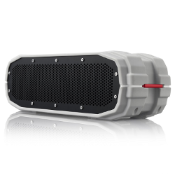 BRAVEN BRV-X Wireless Bluetooth Speaker [Waterproof] - Gray/Red