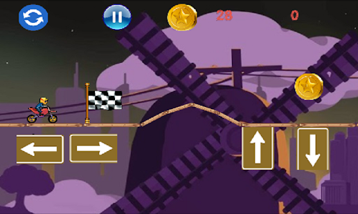 Insane Hill climb Racing screenshot