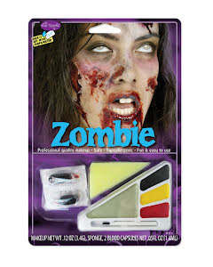 Sminkset, zombie
