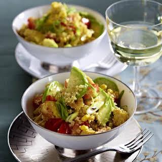 Chicken, Avocado and Quinoa Salad.