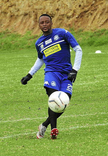 Lucky Khune of Baberwa United.