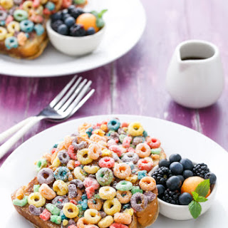 Fruit Loops French Toast.