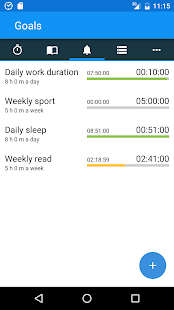 aTimeLogger - Time Tracker Screenshot