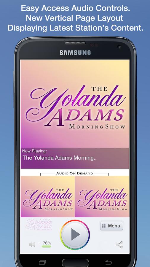 The Yolanda Adams Morning Show- screenshot