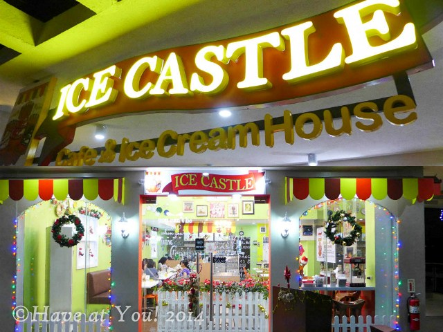 Ice Castle storefront