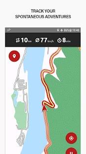 calimoto Motorcycle GPS Navi - náhled