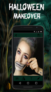 New Year Camera With Scary Halloween Filter 4K HQ - náhled