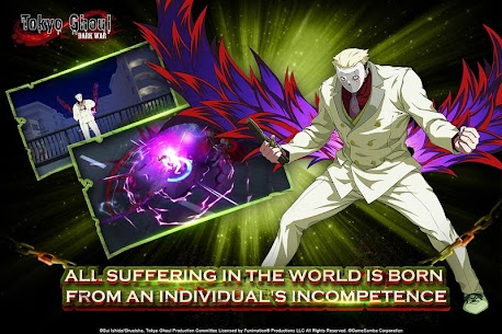 Tokyo Ghoul: Dark War Apk Download For Android and Iphone 3