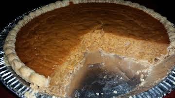 My Version  of Pumpkin Pie