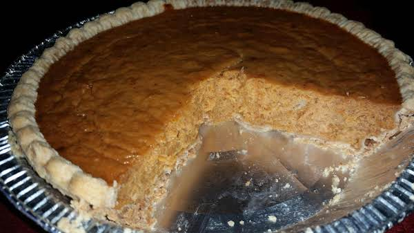 My Version  Of Pumpkin Pie Recipe