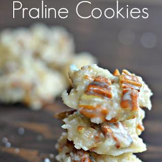 No Bake Praline Cookies.