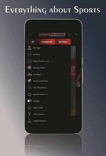 SportsFlashes - Sports Radio, TV, Scores & Updates 5.6 screenshots 1
