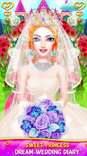 Princess Wedding Magic Makeup Salon Diary Part 1 screenshot 1