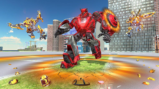US Police Transform Iron Robot Spider Hero 1.0.3 screenshots 21