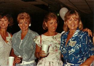 Photo: Charron French Holleron, Pam Johson Rosemond, Micky Whitmore Milledge, Rita Leeper Sholund