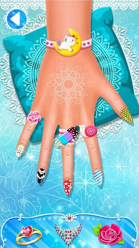 Nail Salon : Nail Designs Nail Spa Games for Girls  screenshots 4
