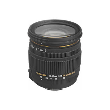 SIGMA 18-50MM F/2.8 EX DC MACRO LENS FOR NIKON (PRE-OWNED)