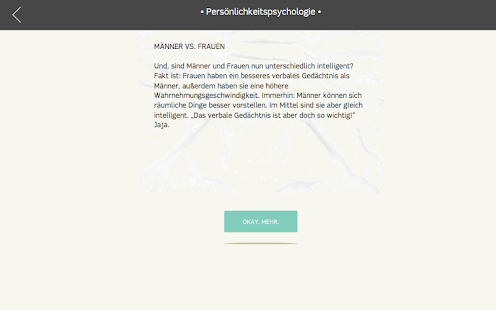 Psytastic: Psychologie-Fakten- screenshot thumbnail