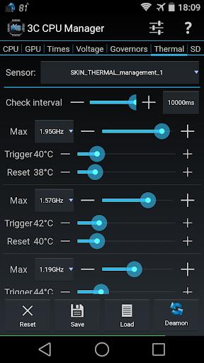 3C CPU Manager screenshot 4
