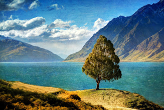 Photo: In New Zealand...Lake Hawea