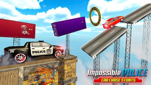 مطاردة سيارة الشرطة المستحيلة: ألعاب السيارات المثيرة 2020 لقطات 4