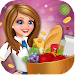 Supermarket High School Girl Cash Register icon