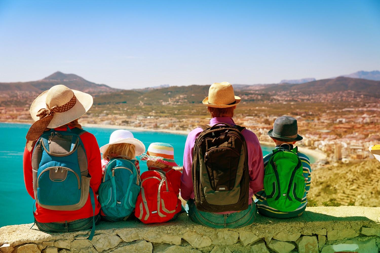 Vacaciones con niños España