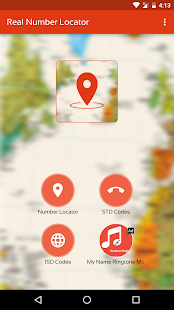 Mobile Real Number Locator - náhled
