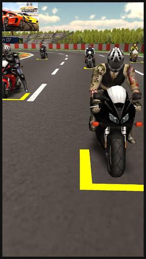 スポーツバイクレース3Dゲーム