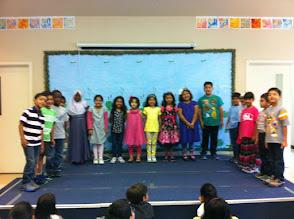 Photo: Kindergarten and 1st Grade Winners