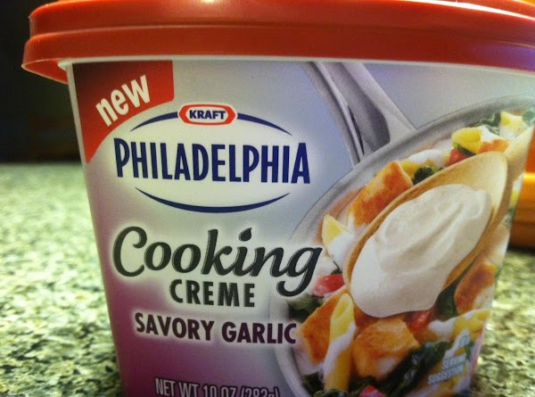 In a large bowl, add the Philly Pourable Cream Cheese, your milk, and your...