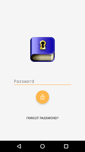 Journal with password- screenshot thumbnail