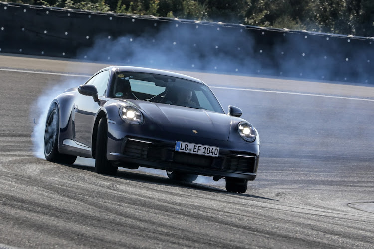 Rigorous track testing is just part of the development game