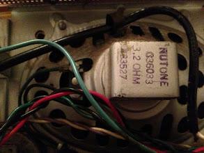 Photo: 3.2 ohm Nutone speaker