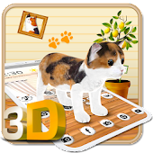 Cute kitten Theme - Play with pets