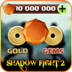 Unlimited Gems For Shadow Fight 2 - Prank icon