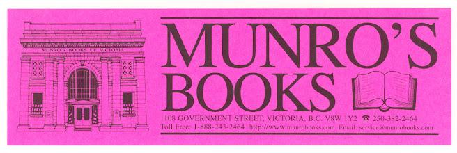 Photo: Munro's Books (1)