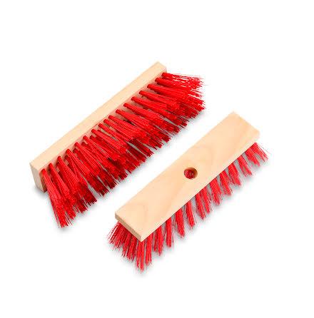 Plastkvast exkl skaft 30cm röd