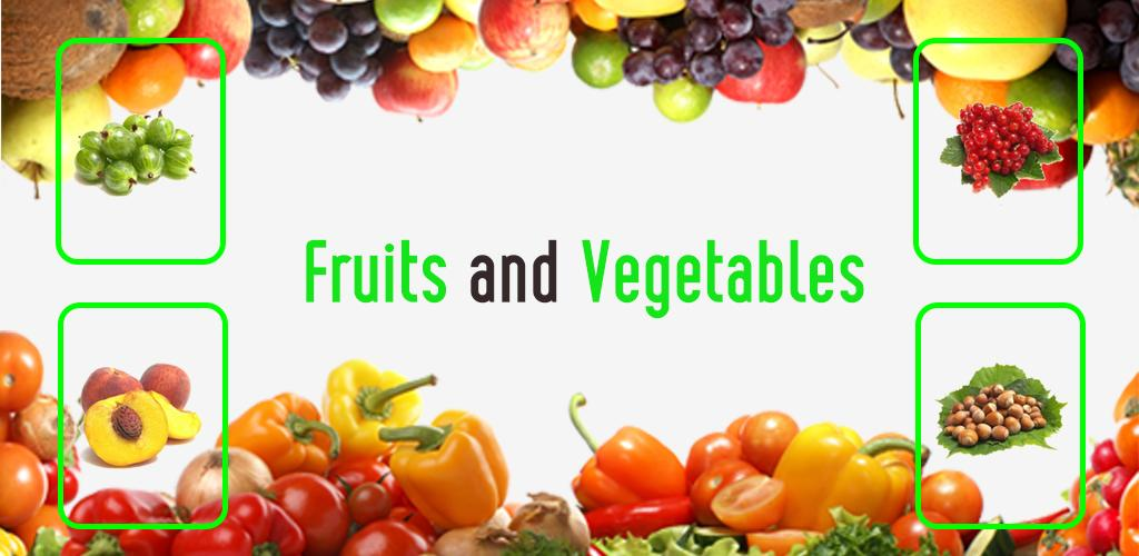 learn english fruits and vegetables names for kids 1 0 0 apk