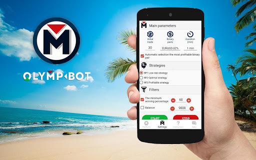 OlympBot -  Olymp Trade Robot (OlympTrade bot) 2.0 screenshots 1